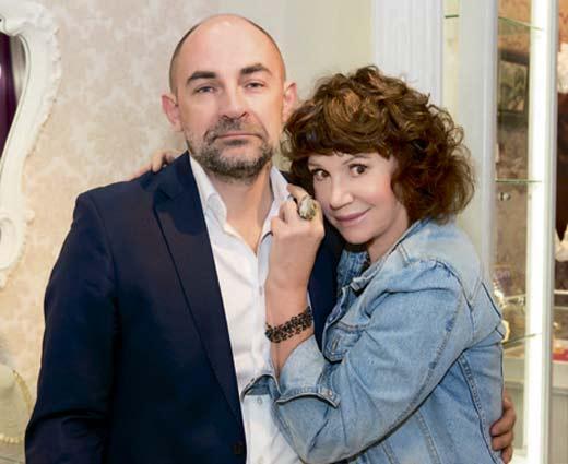 Вера Бабичева и муж Сергей Голомазов 2