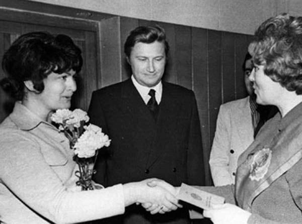 Виктор Борцов с женой Стеллой