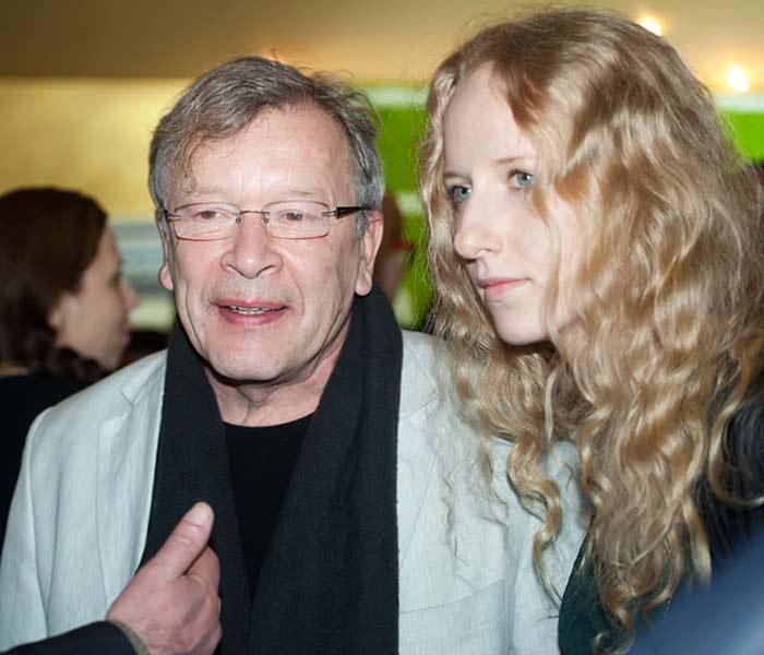Виктор Ерофеев и жена Екатерина