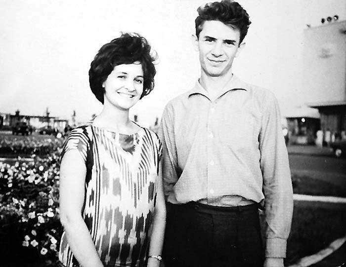 Виктор Ильченко и жена Татьяна