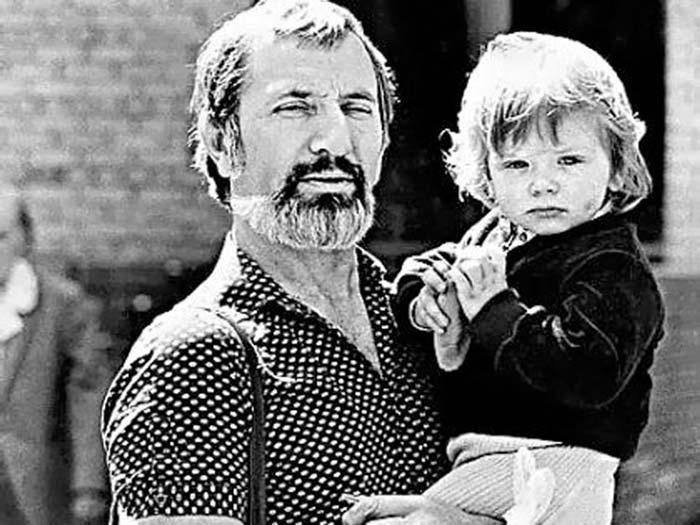 Виктор Мережко и сын