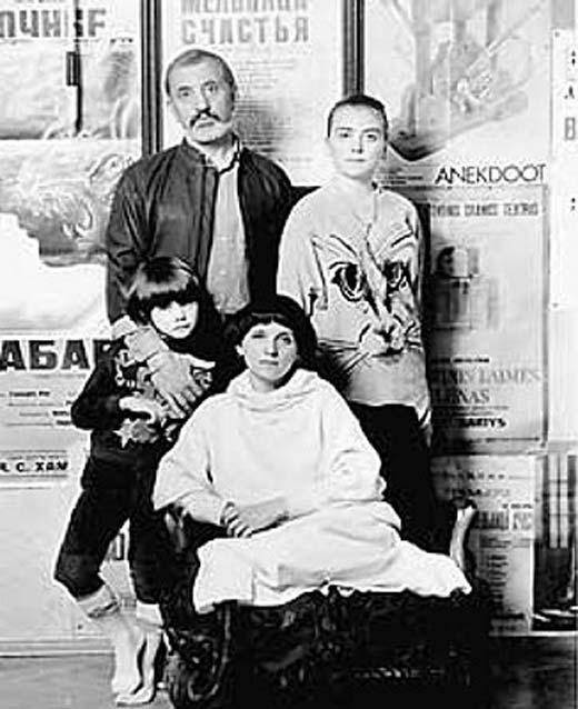 Виктор Мережко жена дети