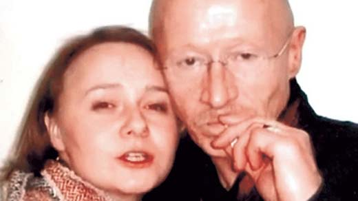 Виктор Проскурин и дочь Александра