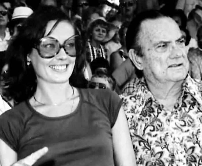 Виктория Фёдорова с отцом