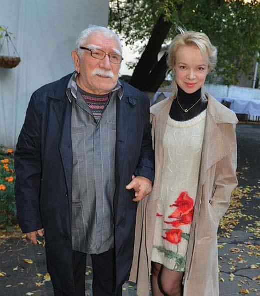 Виталина Цымбалюк-Романовская и Армен Джигарханян 5