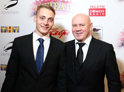Виталий Хаев и сын Владислав