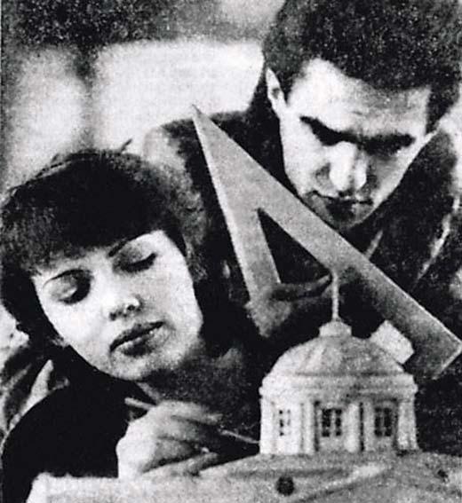 Вячеслав Бутусов и первая жена Марина
