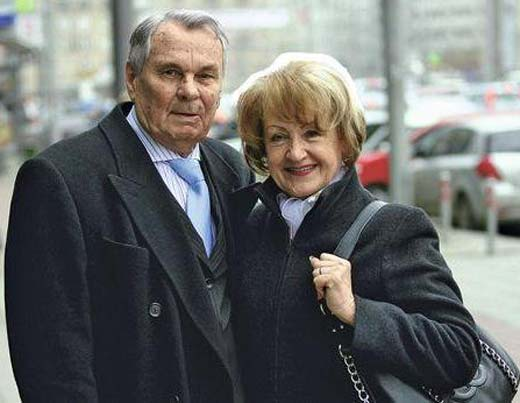 Валентин Иванов и жена Лидия Гавриловна
