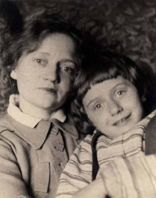 Валентина Сперантова и дочь Оксана