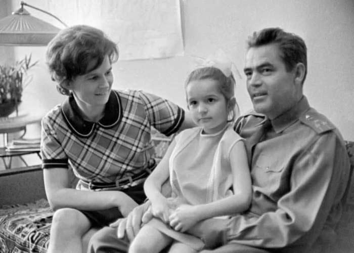 Валентина Терешкова и Андриян Николаев 3