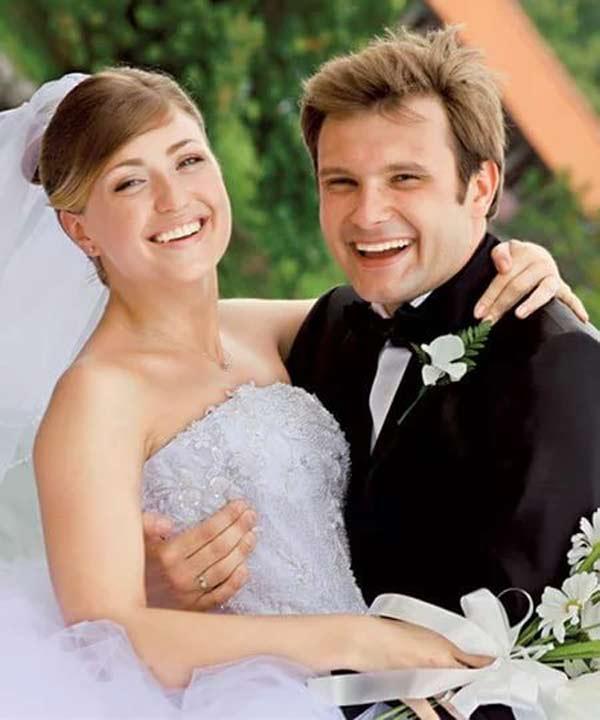 Владимир Фекленко и жена Камилла