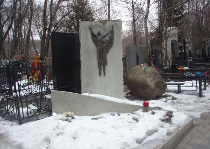Могила Владимира Мигули
