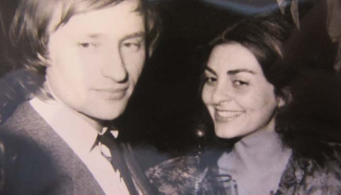 Владимир Мигуля и жена Марина
