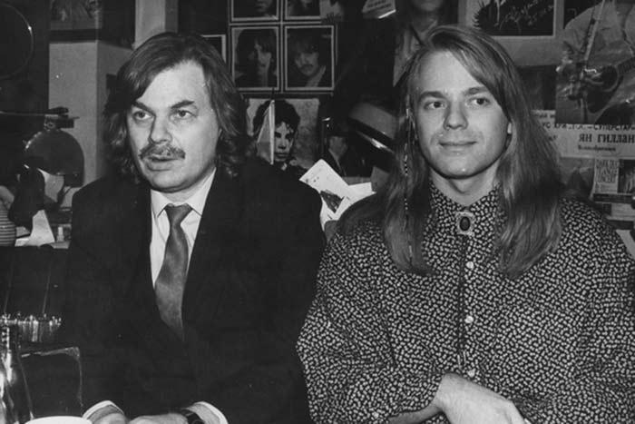 Владимир Пресняков старший и сын Владимир Пресняков младший