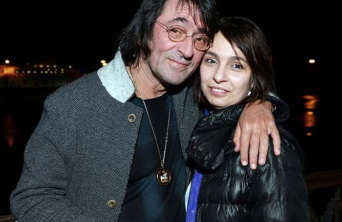 Юрий Башмет и дочь Ксения