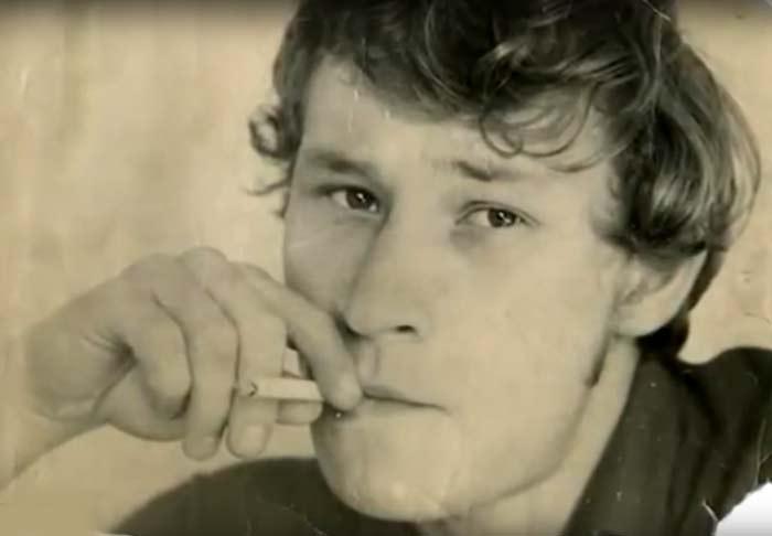 Юрий Ицков в молодости