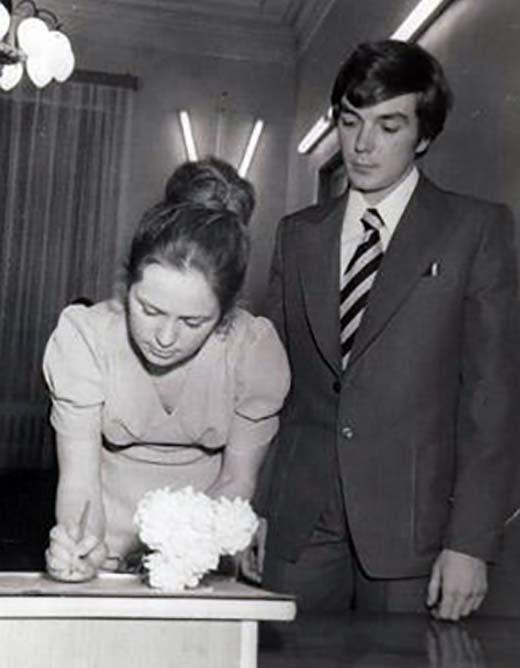 Юрий Николаев и жена Элеонора