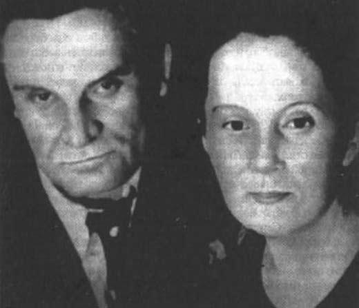 Юрий Олеша и Ольга Суок