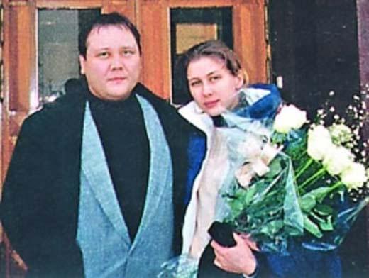 Юрий Степанов и жена Ирина