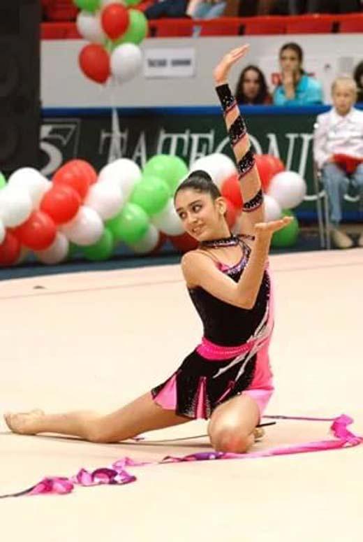 Зарина Мухитдинова художественная гимнастика