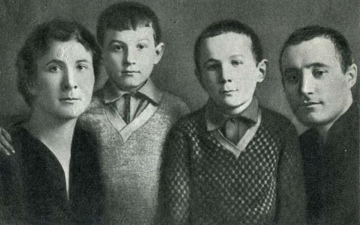 Родители Зои Космодемьянской
