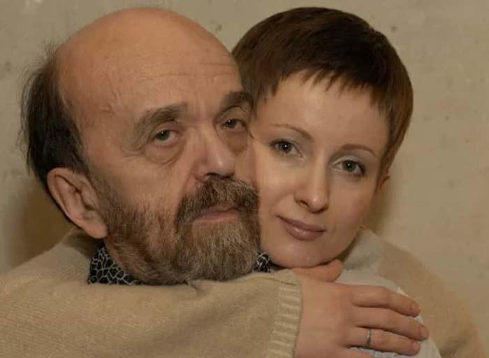Владимир Фёдоров и жена Вера