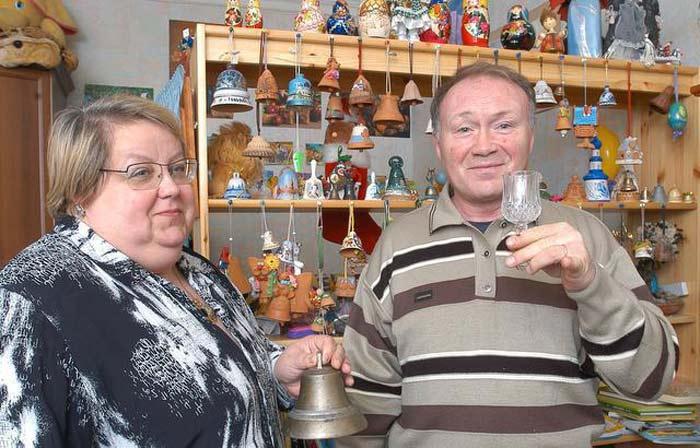 Юрий Кузнецов и жена Ирина