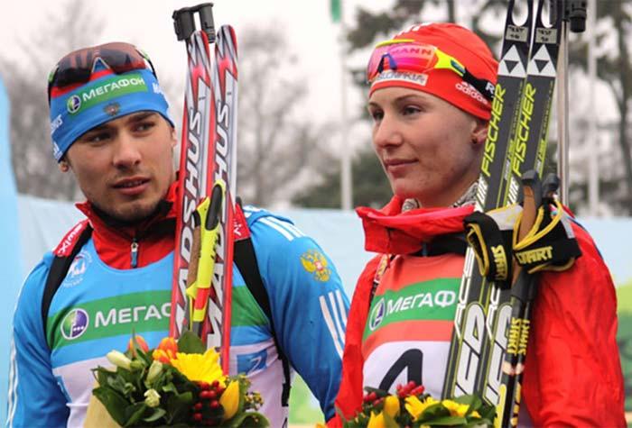 Анастасия Кузьмина и Антон Шипулин