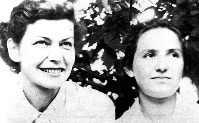 Дочь Ильи Эренбурга Ирина и Фаня