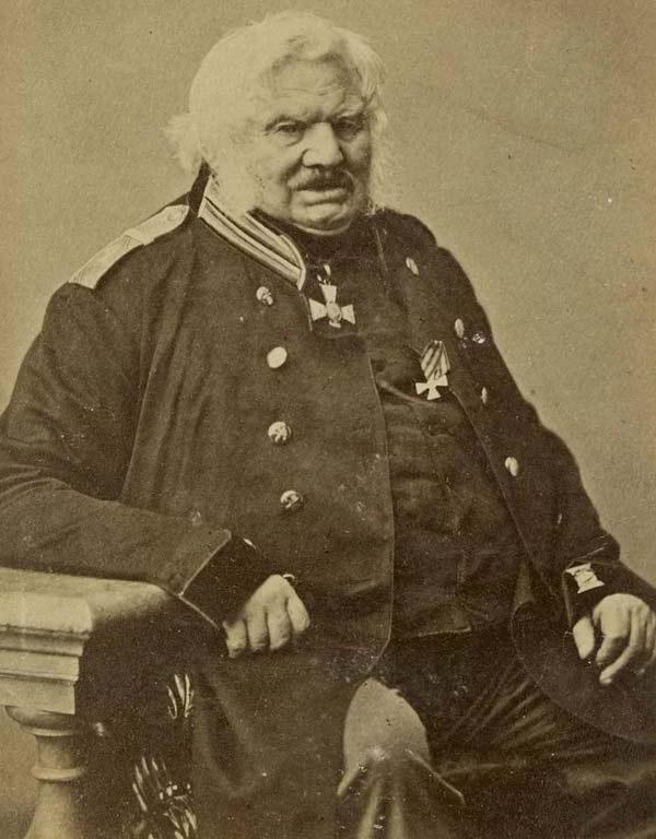 Алексей Ермолов в старости