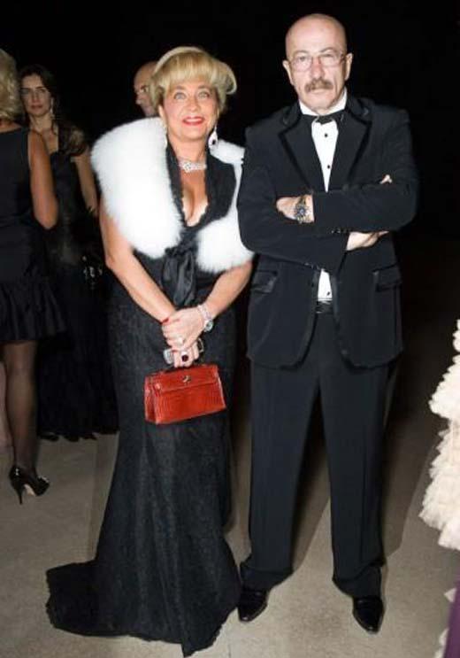 Александр Розенбаум и жена Елена 2
