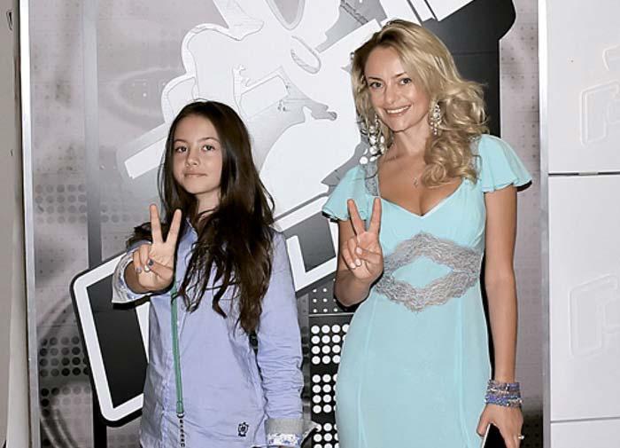 Елена Максимова и дочь Диана