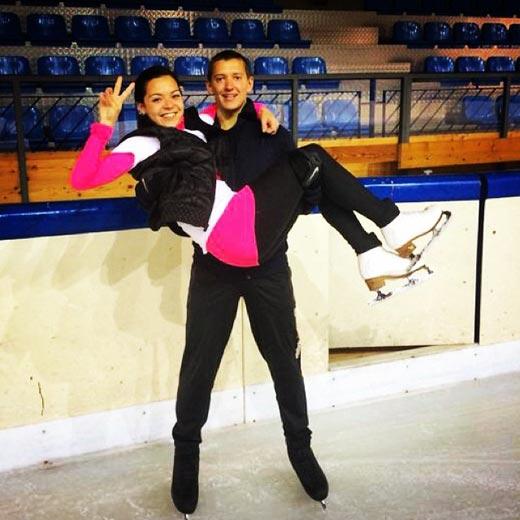 Аделина Сотникова и Максим Ковтун