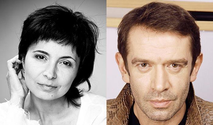 Алёна Хованская и Владимир Машков