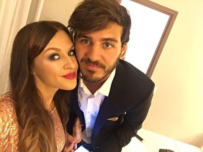 Александр Ерохин и жена Вероника