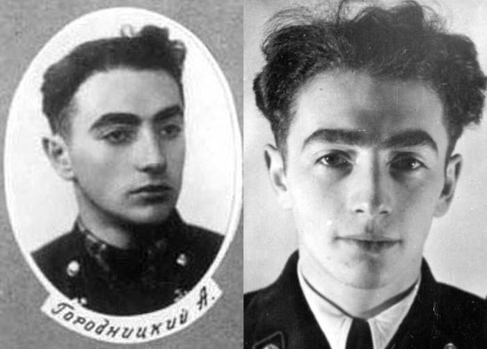 Александр Городницкий в молодости