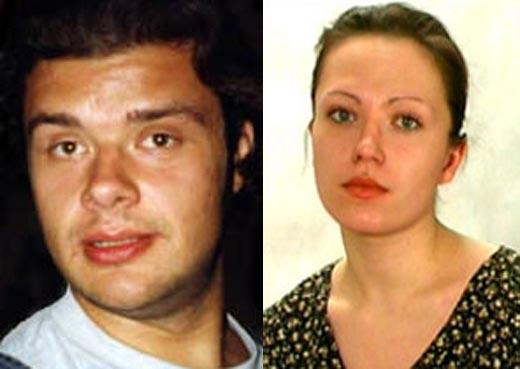 Александр Гришаев и Нина Алексеева