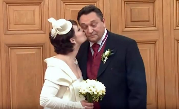 Александр Клюквин и жена Тамара