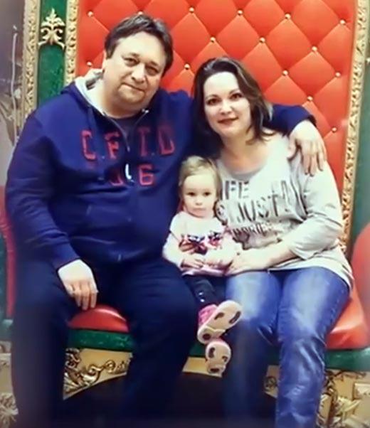 Александр Клюквин жена Тамара дочь Антонина