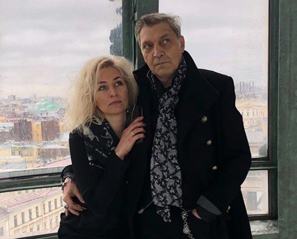 Александр Невзоров и жена Лидия