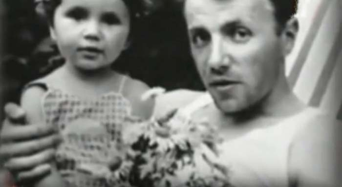 Александр Серый и дочь Ольга