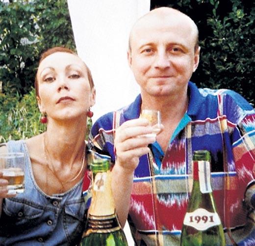 Александр Сирин и жена Татьяна Рудина
