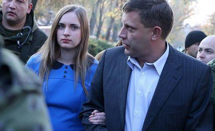 Александр Захарченко и жена Наталья