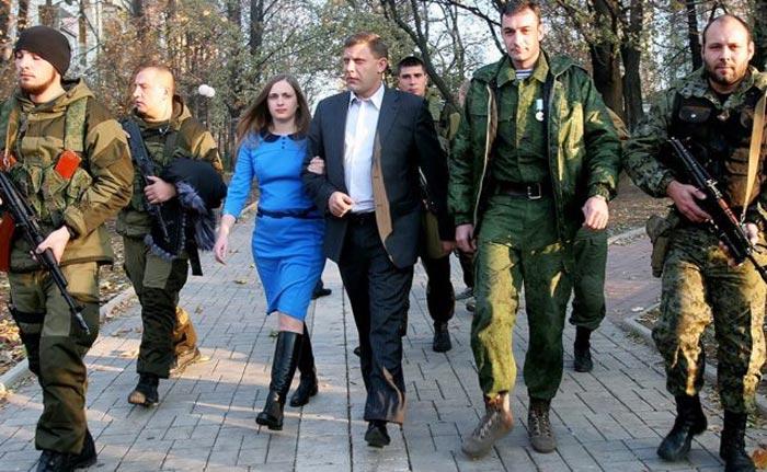 Александр Захарченко и жена Наталья 2