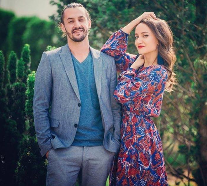 Александра Захарик и Михаил Филипеня