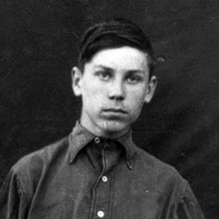 Алексей Кадочников в детстве