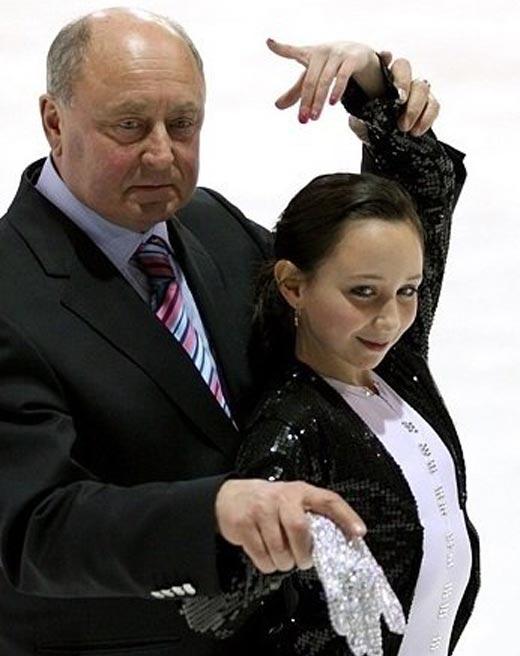 Алексей Мишин и Елизавета Туктамышева