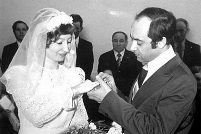 Алексей Мишин и жена Татьяна