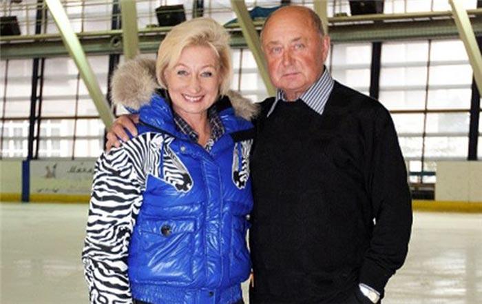 Алексей Мишин и жена Татьяна 2
