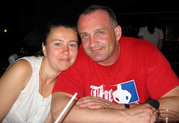 Алексей Огурцов и жена Елена